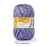 REGIA 4-fädig Design Line by ARNE & CARLOS 9801270-03653 star night Handstrickgarn, Sockengarn, 100g Knäuel
