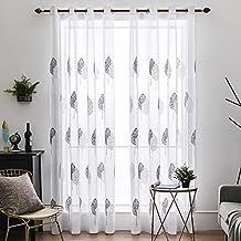 cortinas salon modernas - 4 estrellas y más - Amazon.es