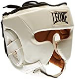 Leone 1947 - Casco de entrenamiento para adultos, unisex, color blanco, talla M