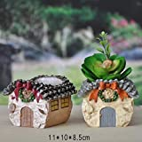 New Garden Decoration Mini Resin Flower pot de fleur Personalized Microcosmic artesanato Flowerpot E