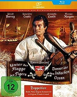 Unter der Flagge des Tigers / Donner über dem Indischen Ozean (Filmjuwelen) [Blu-ray]