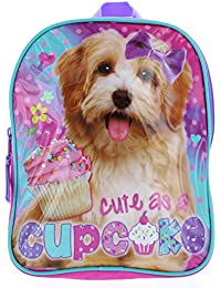 """Cute As A Cupcake"" Dogs 10"" Mini Backpack - Puppy Toddler Backpack By Global Designs"