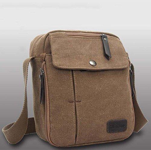 Unisex Umhängetasche Tasche für Reise Wenkend-Aktivitäten Picknick Outdoor Sport - Kaffee Kaffee