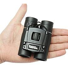 LESHP Prismáticos 8x21, Compactos Ligeros Binoculars Ideales para Observación de Aves/ Acampada/ Caza/ ópera/ Conciertos/ Deportes/ Turísticas/ Visita de negocios etc.