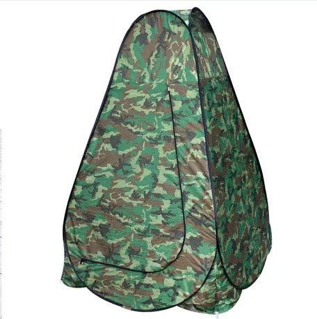 CBWZDJZDS Mobile Zelt Tarnung Ställe Einzelzelte Outdoor Camping Doppelzelt Tarnung Einzel 120X120X190Cm