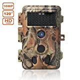 DIGITNOW! Trail Camera 16MP 1080P HD Waterproof , Wildlife Hunting Scouting Game Camera
