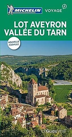 Pyrenees Michelin - Guide Vert Lot Aveyron Vallée du Tarn