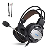 Best TeckNet casque de jeu - TeckNet Casque de jeu stéréo 3,5 mm, suppression du Review