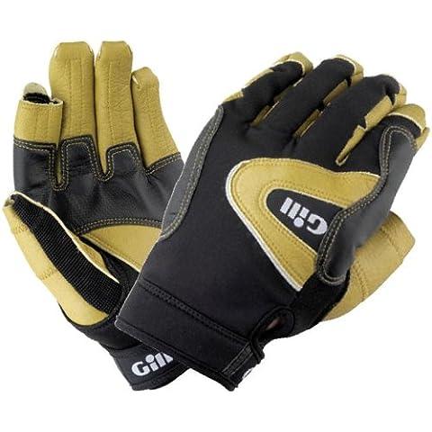 Gill Pro Long Finger Sailing Gloves - Black/Grey XS