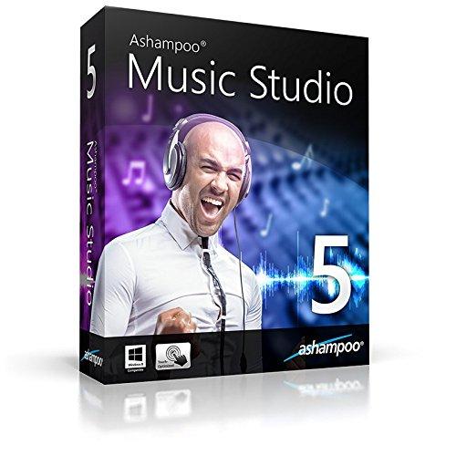 Music Studio 5 ashampoo WIN (Product Keycard ohne Datenträger)