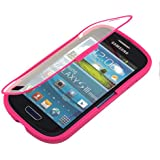 kwmobile TPU Silikon Hülle für Samsung Galaxy S3 Mini - Full Body Protector Cover Komplett Schutzhülle Case in Pink Transparent