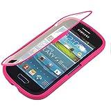kwmobile TPU Silikon Hülle für Samsung Galaxy S3 Mini - Full Body Protector Cover Komplett Schutzhülle Case in Pink