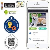 QR4G.com Placa identificativa Inteligente para Mascotas con QR GPS