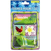 Framed Magnet Set: Kauai Collection by Island