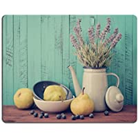 Liili mouse pad Natural rubber Mousepads pera in ciotola con