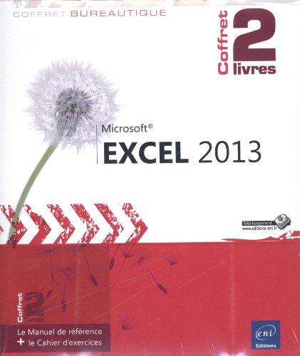 Excel 2013 - Coffret de 2 livres : Le Manuel de référence + le Cahier d'exercices par Pierre RIGOLLET