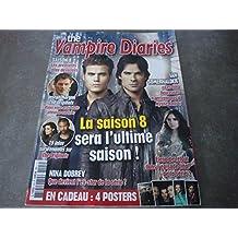 """THE VAMPIRE DIARIES MAG N°3 !! """"LA SAISON 8 SERA L'ULTIME SAISON !"""" EN CADEAU : 4 POSTERS"""