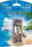 Playmobil 70032 Playmo - Pirata, Multicolore