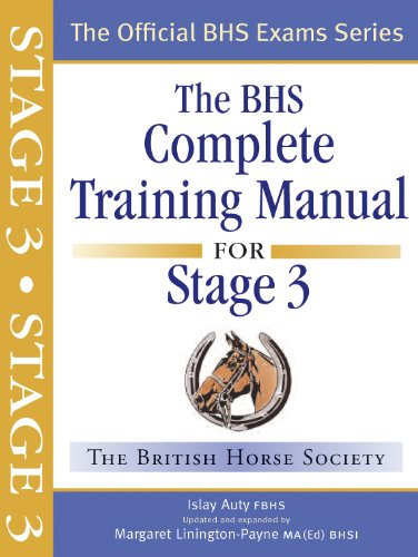 The BHS Complete Training Manual For Stage 3 por Islay Auty FBHS