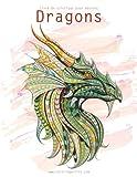 Telecharger Livres Livre de coloriage pour adultes Dragons 1 2 (PDF,EPUB,MOBI) gratuits en Francaise