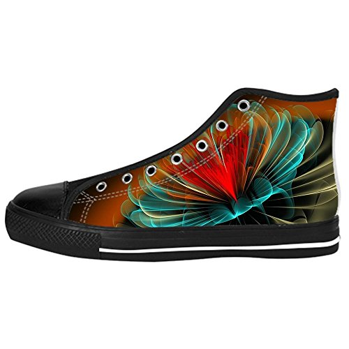 Dalliy Custom 3D Format Men's Canvas Shoes Schuhe Lace-Up High-Top Sneakers Segeltuchschuhe Leinwand-Schuh-Turnschuhe (Raiders Oakland Schuhe Baby)