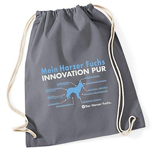 Turnbeutel - INNOVATION Liste HARZER FUCHS Altdeutscher Hütehund Harz Hund Hunde - Baumwoll Tasche...