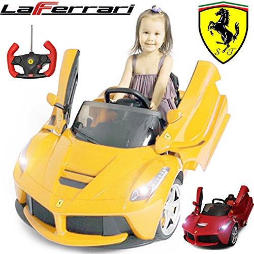 comtechlogic-cm-2199-official-licensed-ferrari-laferrari-12v-electric-ride-on-kids-car-with-parental