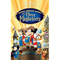 Mickey Donald Goofy The Three Musketeers Movie Poster 70 X 45 cm