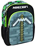 Minecraft Moulded Pickaxe Backpack