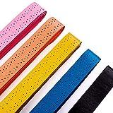 Senston Breit Anti-Rutsch Perforiert Saugfähig Tennis Griffbänder - 5/10/15 Stück BadmintonSchläger Grip Squash Schläger Overgrip