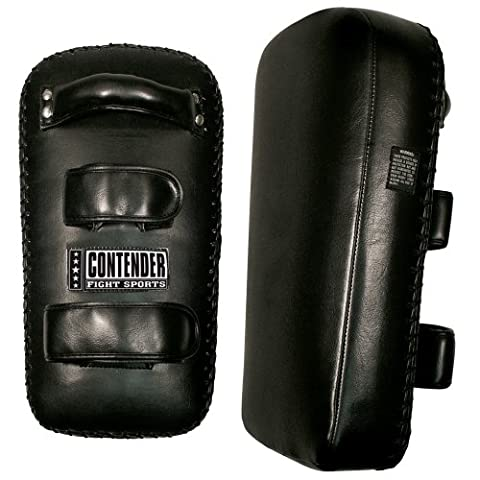 Contender Fight Sports Kickboxing Muay Thai MMA Training Kick Punch Strike Shield Thai Pads (Pair)