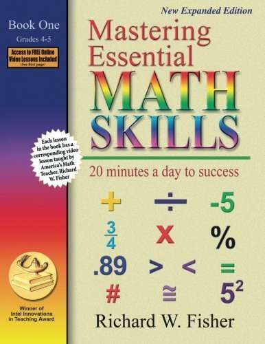 Mastering Essential Math Skills: 20 Minutes a Day to Success, Book 1: Grades 4-5 by Richard W. Fisher (2007-02-15)