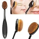 Grundlagen-Bürste, LuckyFine Make Up Brush Kosmetik Make-up Gesicht Powder Rouge Zahnbürste Kurve Schmink Bürste