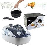 JOLTA® Mline Multi Fryer Heißluft Fritteuse inkl. Kochbuch und Zubehör