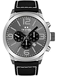 TW Steel Marc Coblen Edition Chrono mit Lederband 50 MM Grey Sunray/Black TWMC59