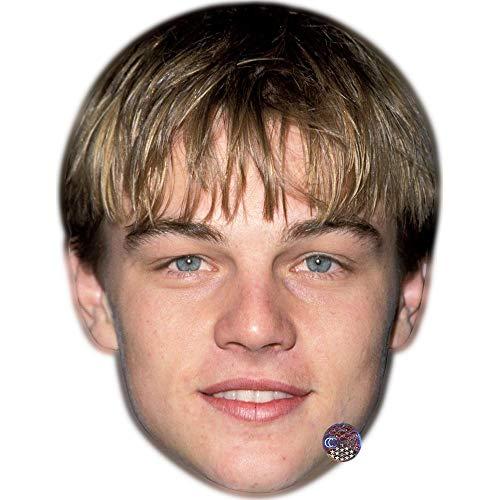 Celebrity Cutouts Leonardo Dicaprio (Young) Maske aus Karton