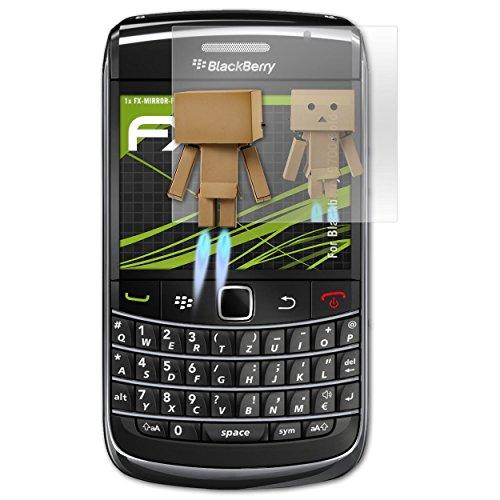 atFolix Displayfolie kompatibel mit BlackBerry 9700 Bold Spiegelfolie, Spiegeleffekt FX Schutzfolie Blackberry Bold Screen Protector