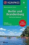 KOMPASS Wasserwanderatlas Berlin und Brandenburg: Märkische Gewässer (KOMPASS Große Wanderbücher, Band 609)
