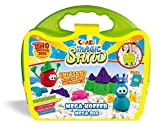 Craze 58559 Magic Sand Mega Valigia, Circa 700 G di Sabbia con Accessori