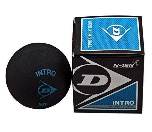 3x Dunlop Squashbälle Farbe : BLAU
