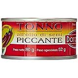 Donzela Tonno all'Olio di Semi Piccante, 3 x 80 G - 240 gr