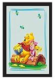 Winnie the Pooh Miroir–Winnie et Ses Amis sur Journal–30cm x 20cm