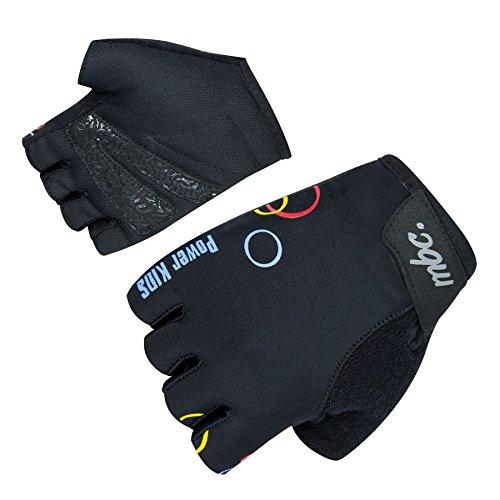 Orina Power Fahrradhandschuhe für Kinder - Halbfinger Kinder Rad Handschuhe (KD 4 - 15cm) Kd 4 Kinder