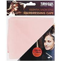 Mantella da parrucchiere/barbiere, salone parrucchieri, unisex, colore: rosa
