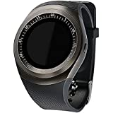 Piqancy Stylish Y1 Smart Watch With Calling Function, Bluetooth V3.0, Support SIM Card, SD Card, Compatible With All Smart Phones. Black, Free Size