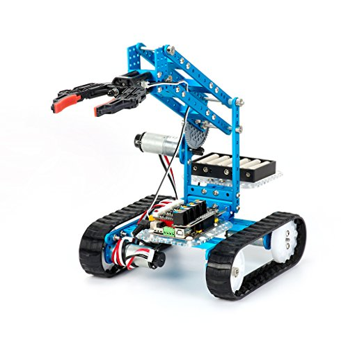 Makeblock Ultimate-2.0 - 10-in-1 DIY Grafische Programmierung STEM Robot Kit-Blue (Roboter-diy)