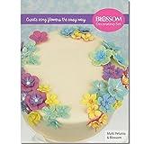 Multi Petunia & Blossom Tortendekorations-Set–Silikon Ausstecher Äderung Förmchen &