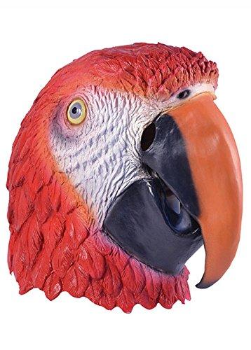 Masque de caoutchouc Deluxe adulte Parrot