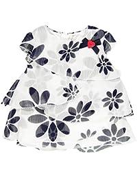 Boboli Vestido Gasa - Talla - 9m Para Bebé Niña