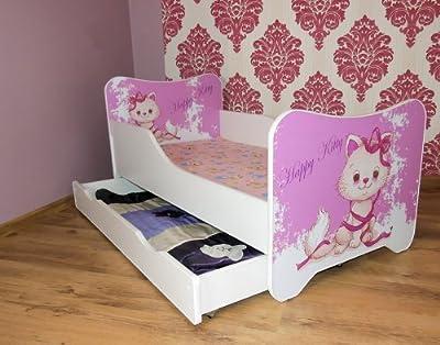 Toddler Children Kids Bed Including Mattress + Drawer - inexpensive UK sofabed shop.